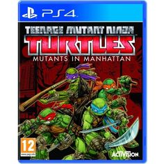 Tmnt Teenage Mutant Ninja Turtles Mutants In Manhattan PS4 Game | http://gamesactions.com shares #new #latest #videogames #games for #pc #psp #ps3 #wii #xbox #nintendo #3ds