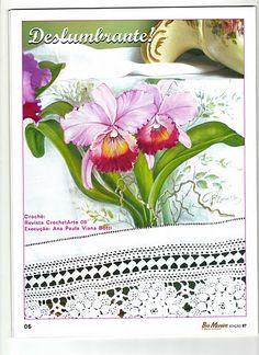 Pintura em Tecido Passo a Passo: Como pintar FLORES