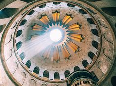 The dome above the Aedicule, which houses Christ's tomb and the site of his resurrection / Dirk Dallas, Flickr