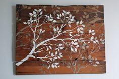 DIY Art Project: Branches Wall Art