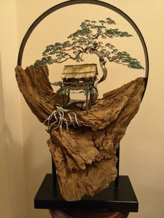 lythongs.com Driftwood Crafts, Wire Crafts, Copper Wire Art, Bonsai Wire, Plantas Bonsai, Wire Tree Sculpture, Clay Fairies, Wire Trees, Handmade Lamps