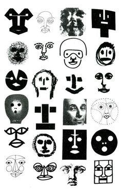 Tema 2: Forma y color Bruno Munari: Guardiamoci negli occhi