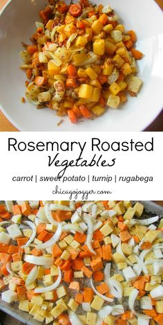 Rosemary Roasted Vegetables | chicagojogger.com