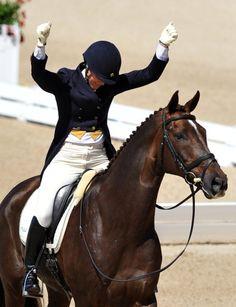 Allison Springer & Arthur. amazing horse and rider partnership!