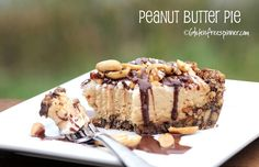 * VERY sweet with the cookie crust.  I think next time I would reduce the sugar in the filling   Gluten Free Spinner: Peanut Butter Pie - Oh My!