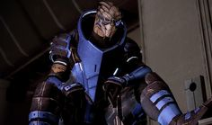 Garrus Vakarian........ Awkward, adorable, and inexplicably sexy turian sniper.  (Mass Effect Series)