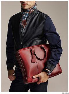 Arthur Kulkov Models Louis Vuitton Men for GQ China
