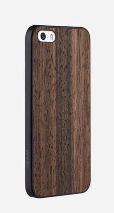 The Ozaki IPhone 5 O!Coat is a great looking hard case, with a wood finish that looks refined and fancy and, more importantly, protects your phone from drops and scratches. http://www.zocko.com/z/JFSly