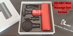 RELXBIT Mini Percussion Massage Gun Review