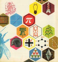 Vintage Math/Science illustration