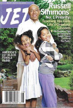 Jet magazine Russell Simmons Rabbi Alysa Stanton Real weddings Roger Robinson