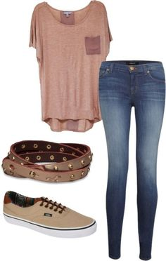 Spring Outfits For School, Casual College Outfits, Preppy Outfits, Outfits For Teens, Summer Outfits, Girl Outfits, School Outfits, Grunge Outfits, Spring School
