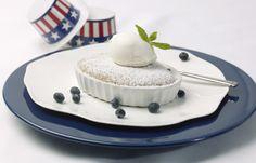 Holland America Cruise Line's Master Chef Rudi Sodamin recipe for Peach and Blueberry Cobbler
