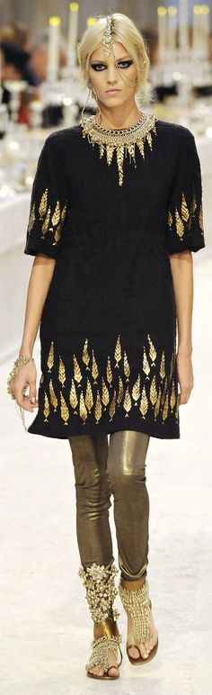 Chanel's Paris-Bombay Pre-Fall 2012 2013 collection