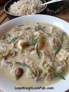 Mushroom and Tarragon Chicken Slimming World Chicken Dishes, Slimming World Recipes Syn Free, Tarragon Chicken, Eating Plans, Main Meals, Meal Planning, Cravings, Chicken Recipes, Stuffed Mushrooms