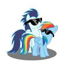 Soarin and Dash by RainbowDash038.deviantart.com on @deviantART