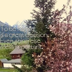 In good or bad weather, decision matters.