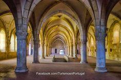Dormitorio de los frailes Introducción al Monasterio de Alcobaça | Turismo en Portugal