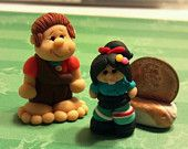 *POLYMER CLAY ~ OOAK - Wreck It Ralph - Polymer Clay Miniatures