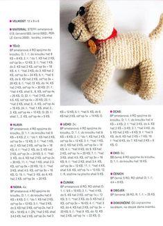 Háčkované návody na hračky - návod na snehuliaka - Album používateľky anna2912 - Foto 16 Crochet Dolls, Dachshund, Teddy Bear, Toys, Animals, Relax, Scrappy Quilts, Tejidos, Animales