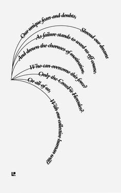 Common #ConcretePoetry #CaffeineAndConcrete #Typography