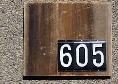 Rustic+barn+wood+house+number+sign