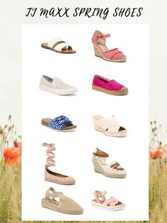 TJ Maxx Spring Shoes
