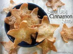Easy Cinnamon Stars