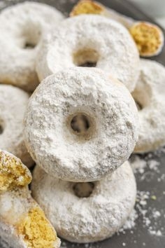 Sugar Free Donuts, Keto Donuts, Healthy Donuts, Sugar Donut, Low Carb Deserts, Low Carb Sweets, Donut Recipes, Dessert Recipes, Keto Desserts