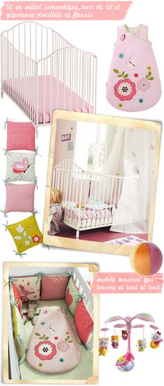 chambre bébé lit métal minilabo