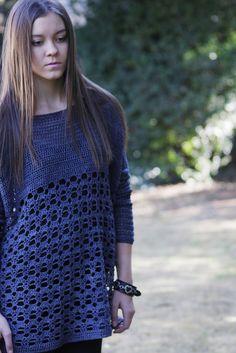 Rebel Sweater By Brenda Grobler - Free Crochet Pattern - (ravelry)