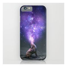 All Things Share The Same Breath (coyote Galaxy) iPhone 6s Case ($35) ❤ liked on Polyvore featuring accessories, tech accessories, phone cases, phone, electronics, iphone case and iphone & ipod cases