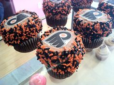 Flyers Cupcakes
