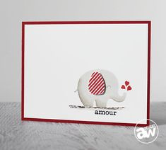Keep it CASual #7: Amour Card video tutorial on the Paper Crafters Library blog. In this card you'll see how I add dimension to solid image stamps by shading them with Copic Markers http://blog.papercrafterslibrary.com/keep-it-casual-7-amour-card-a-giveaway/