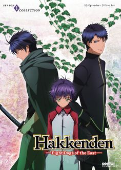 Hakkenden: Eight Dogs of the East DVD Season 1 Collection (Hyb)