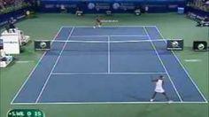 Venus Williams vs Serena Williams 2009 Dubai Highlights, via YouTube.