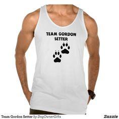 Team Gordon Setter Tanks Tank Tops