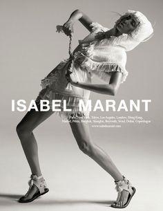 La campagne Isabel Marant printemps-été 2015