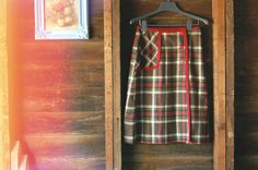 1960's Pendleton Plaid Wool Skirt by neverendingyardsale on Etsy, $35.00 Plaid Wool Skirt, Wool Skirts, Lake Tahoe Vacation, Summer Dresses, Trending Outfits, Vintage, Etsy, Fashion, Moda
