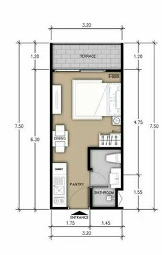 apartment layout of 27 sq.m: 19 thousand images apartment layout of 27 sq.m: 19 thousand images apartment layout of 27 sq.m: 19 thousand i Container House Plans, Container House Design, Small House Design, Container Homes, Studio Apartment Floor Plans, Studio Apartment Layout, Small Apartment Plans, Small Apartment Layout, Studio Floor Plans