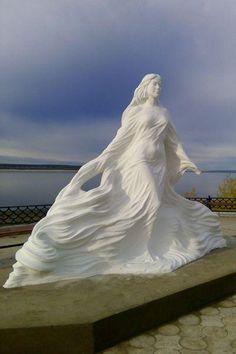памятник реке Лене