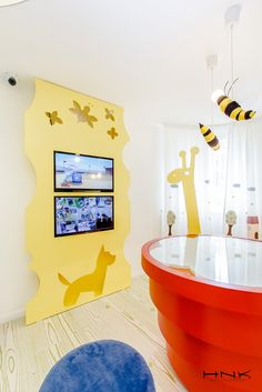 Dental clinic for children with a gorgeous design Dent Estet 4 Kids - Hamid Nicola Katrib - www.homeworlddesign. com (4)