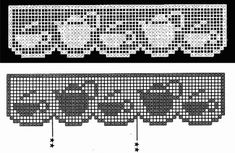 Wzory koronki szydełkowej filet, wzory koronki filet, darmowe wzory filet, detale do koronki filet, koronka siatkowa wzory, DIY, tutoriale, crochet filet patterns