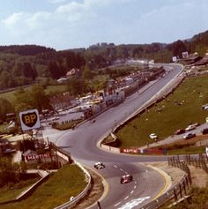 Spa-Francorchamps. 1970.
