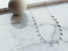 Missoma - Silver Mini Fang Necklace