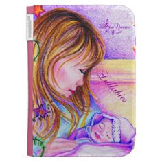 Lullabies Kindle Cover #kindle #cover #case #infant #newborn #newmom #baby #reading