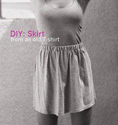 DIY skirt...