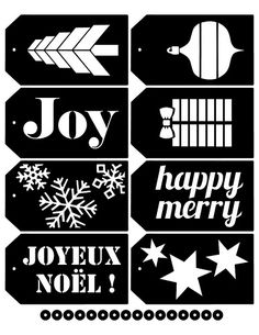 Christmas tag SVG by melstampz, via Flickr