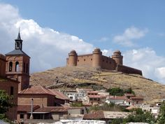 La Calahorra © Robert Bovington Located between the cities of Almería and Granada, the town of La Calahorra has a magnificent castle, the Castillo-Palacio de La Calahorra, built on a hill overlooking the town. It lies at the foot of the Sierra Nevada. Driving from the Alpujarras to Guadix via the Puerto de Ragua pass, the only road to traverse the north and south faces of the Sierra Nevada mountain range is a spectacular journey.