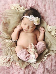 ittybitty Lil Lacie  baby newborn leg warmers by GraceandLaceCo, $17.50